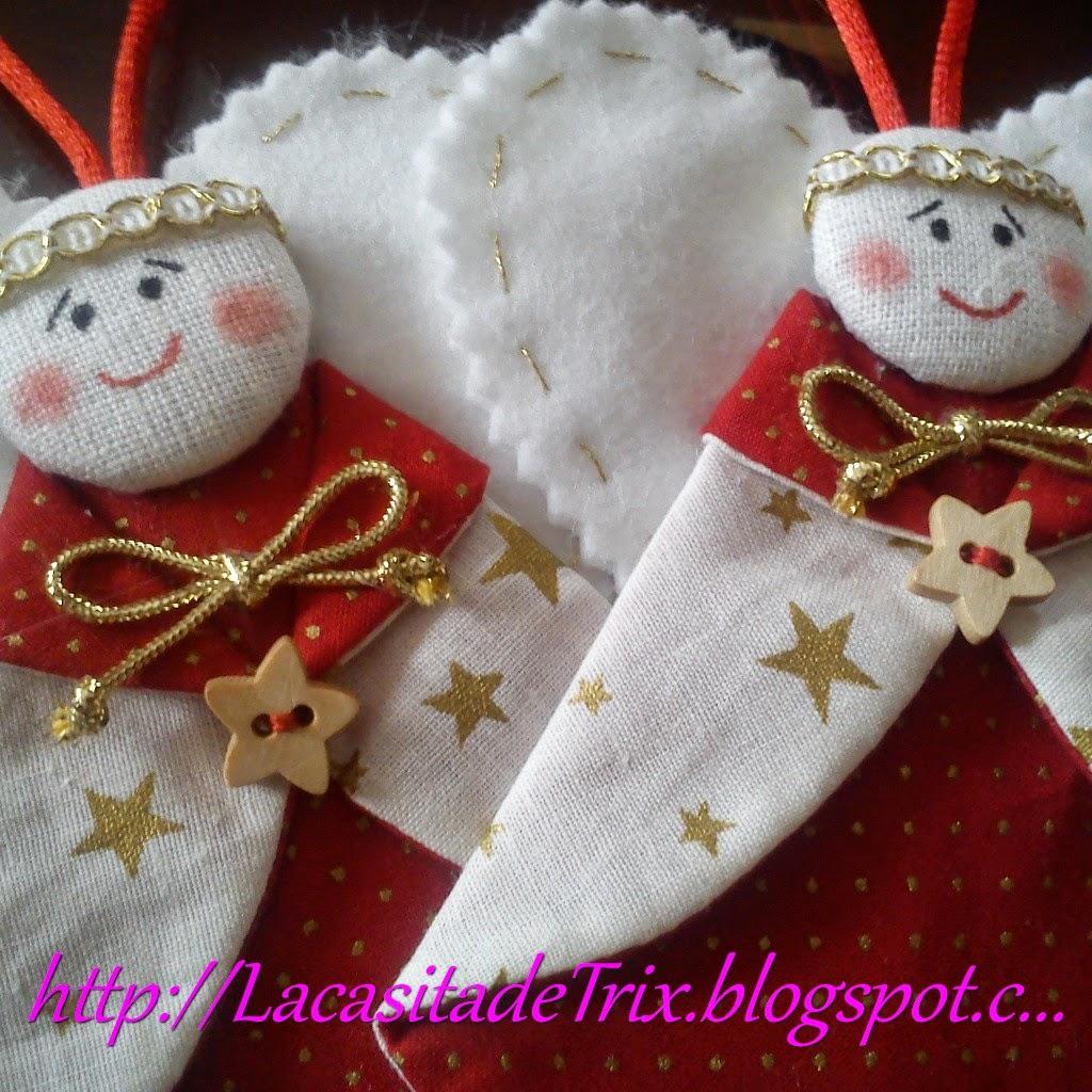 Angelitos navidenos aprender manualidades es for Facilisimo com manualidades
