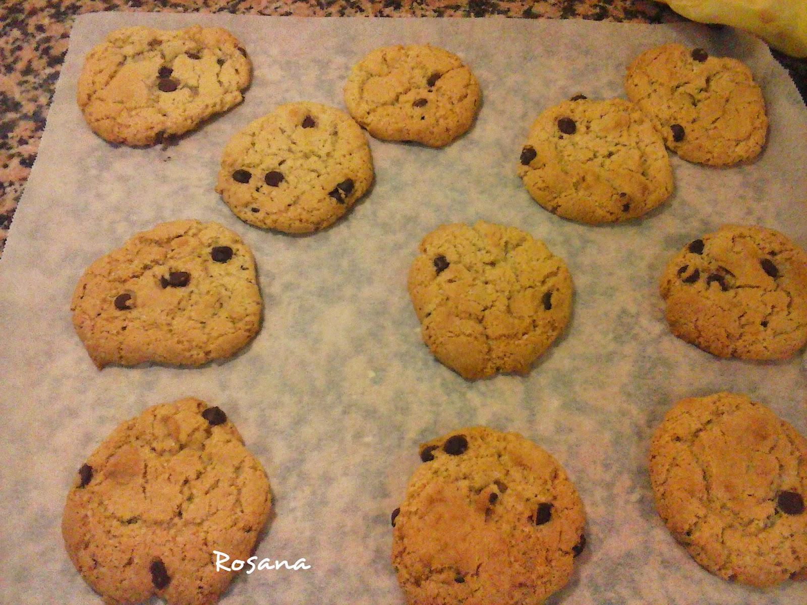 galletas salidas del horno