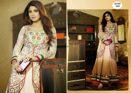 Shilpa Shetty Indian Anarkali 2015 Collection