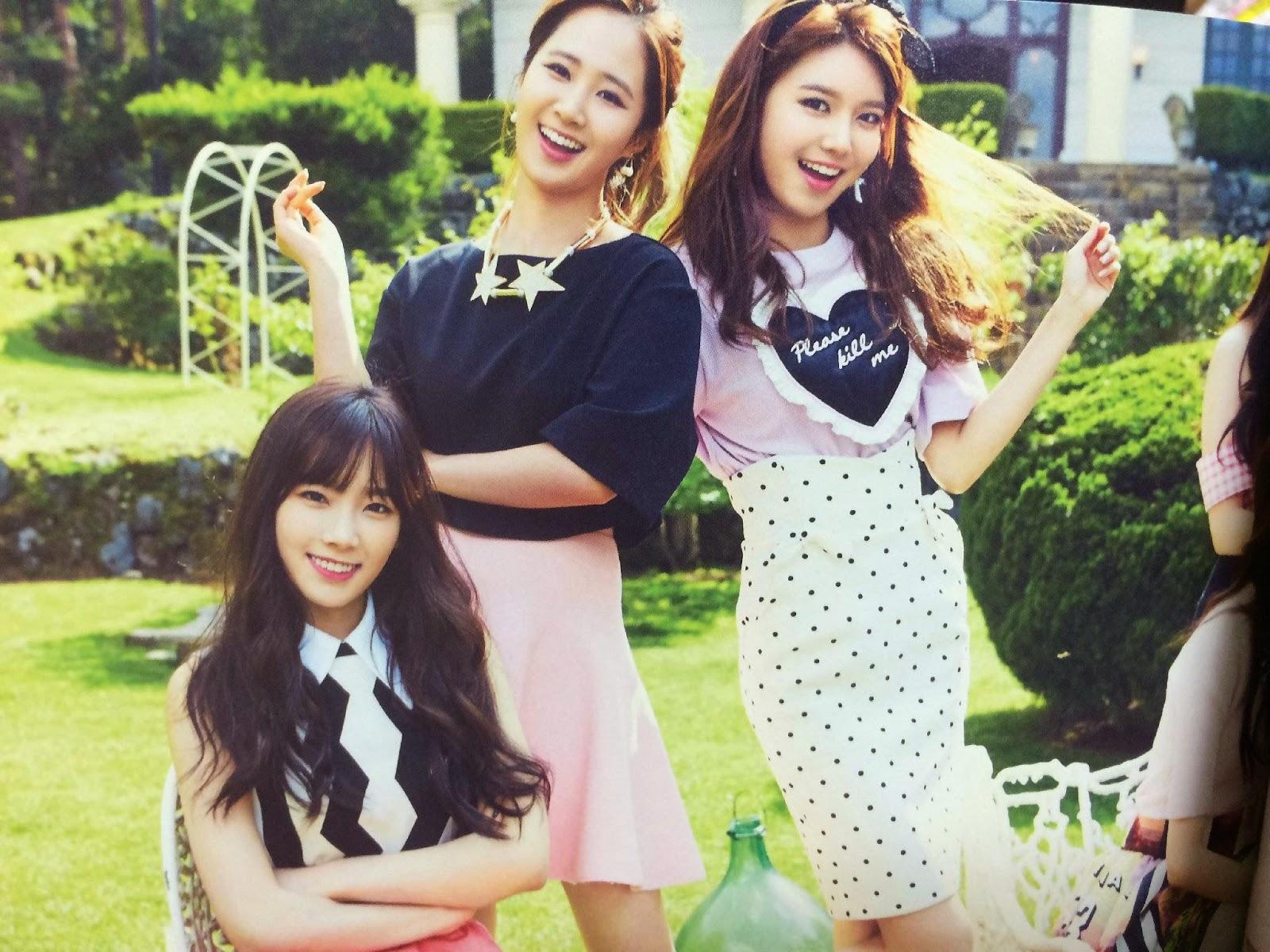SNSD Girls Generation The Best Scan Wallpaper HD 9