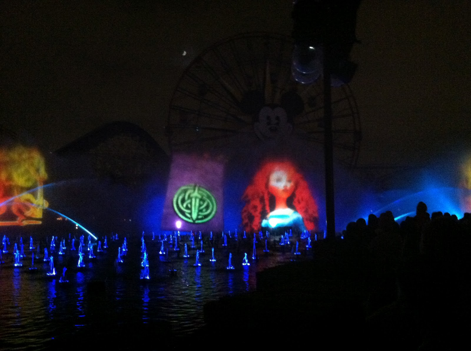 Merida joins the World of Color