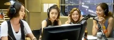 Lee Min Jung 이민정 as Shin Jin A hosting a radio program.