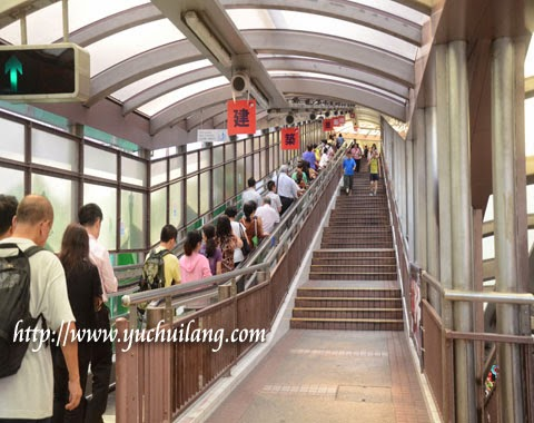 Eskalator Pertengahan Bukit Central