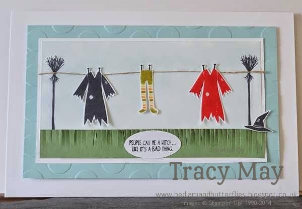 stampin up uk independent demonstrator tracy may halloween home decor ideas