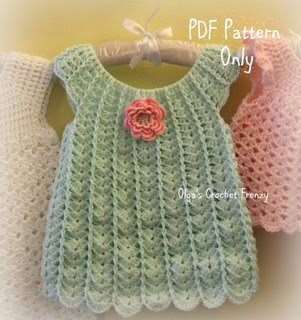 Shells Baby Dress, Size 3-6 Months, $3.25