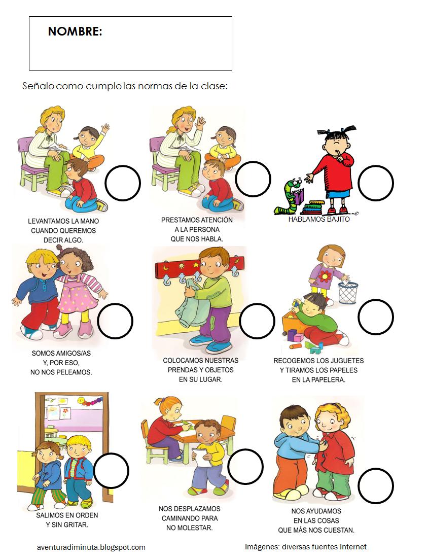 Baños Kinder Medidas:Reglas De Casa Para Ninos