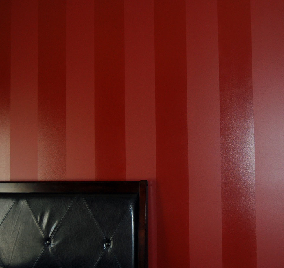 Davis Creative Painting Painted Stripe Wall