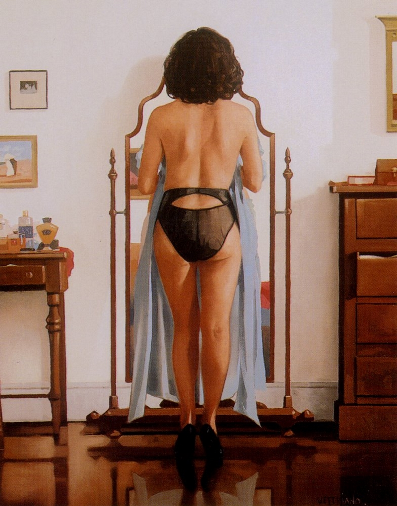 Shell Exhibition Kirkcaldy : D w c the woman in black painter jack vettriano