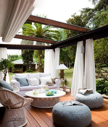 Outdoor Decoration Ideas outdoor porch and terrace decorating ideas ~ home decorating ideas