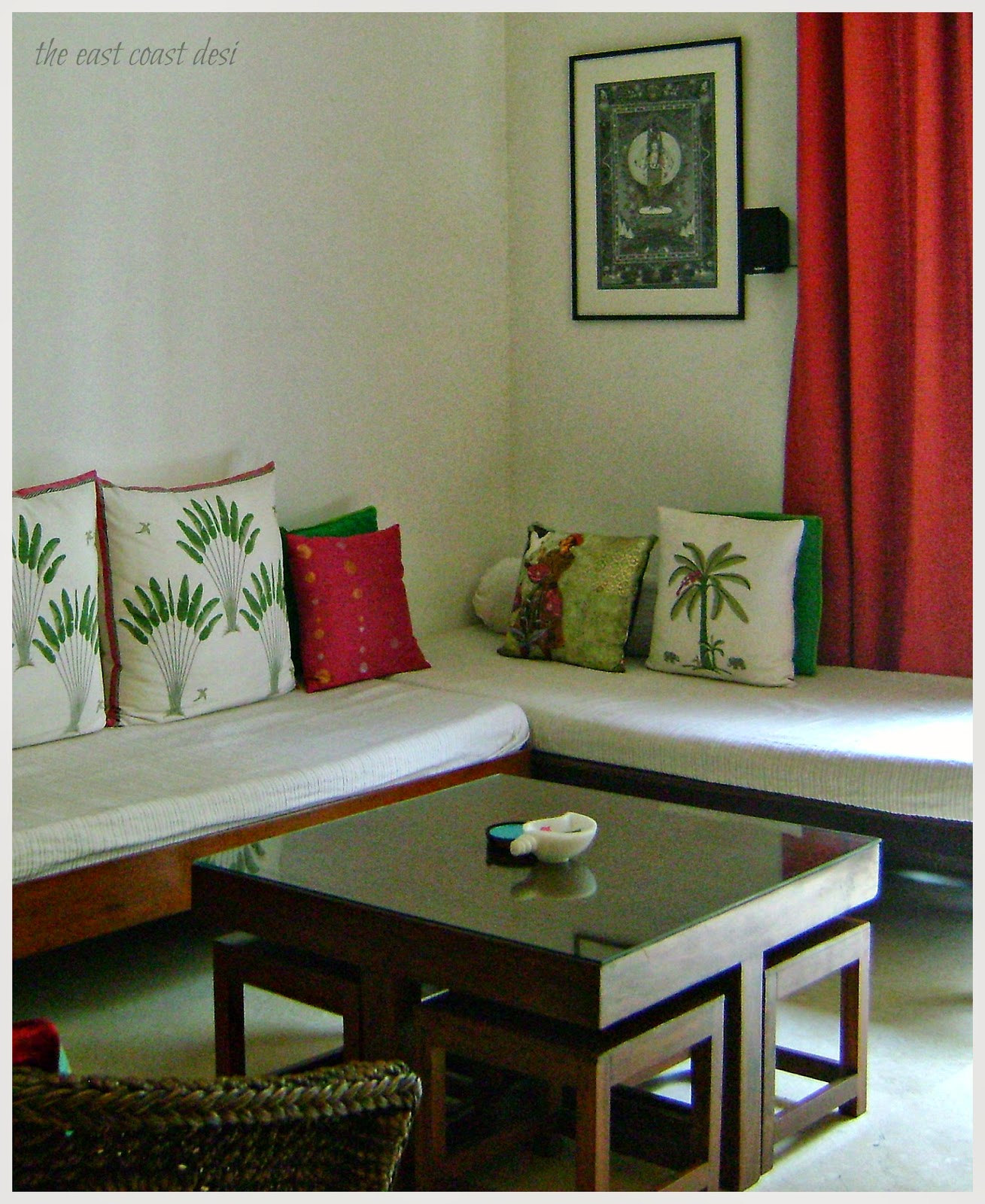 The east coast desi small spaces big on function and for Desi home designs