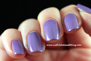 Sinful Colors Verbena purple nail polish