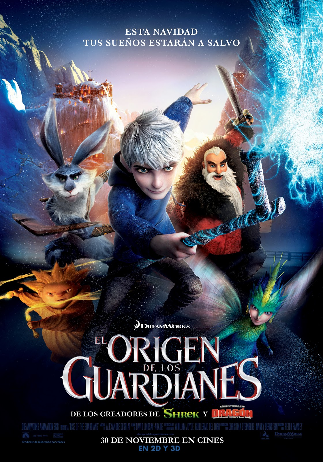 El Origen De Los Guardianes [2012] [Dvdrip] [Latino]