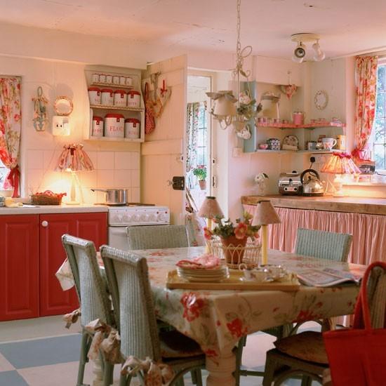 decoracao cozinha rural : decoracao cozinha rural: Refúgio – Decoração: Cozinha Romântica, com jeito da casa de vó