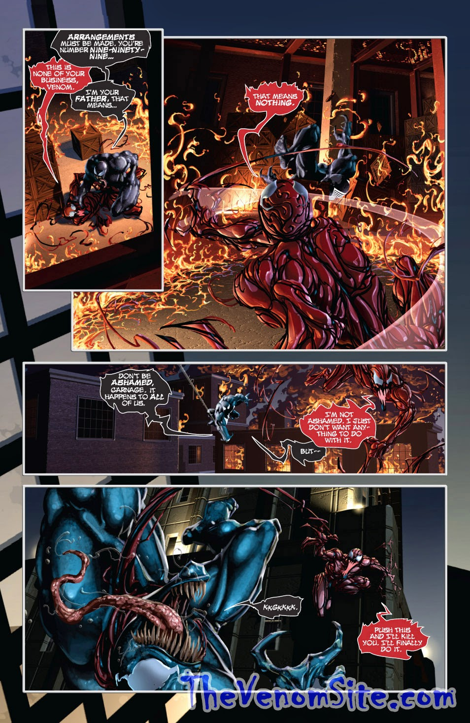Read Venom vs Carnage on the Marvel Comics App for Android and iOS