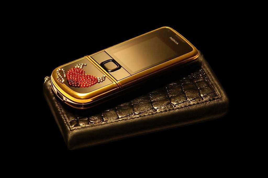 ميلاد سعيد يا استاذة زينب  MJ+Mobile+Case+Exotic+Leather+-+Black+Crocodile+with+Gold+Phone+Nokia+8800+Pure+Gold+Swarovski