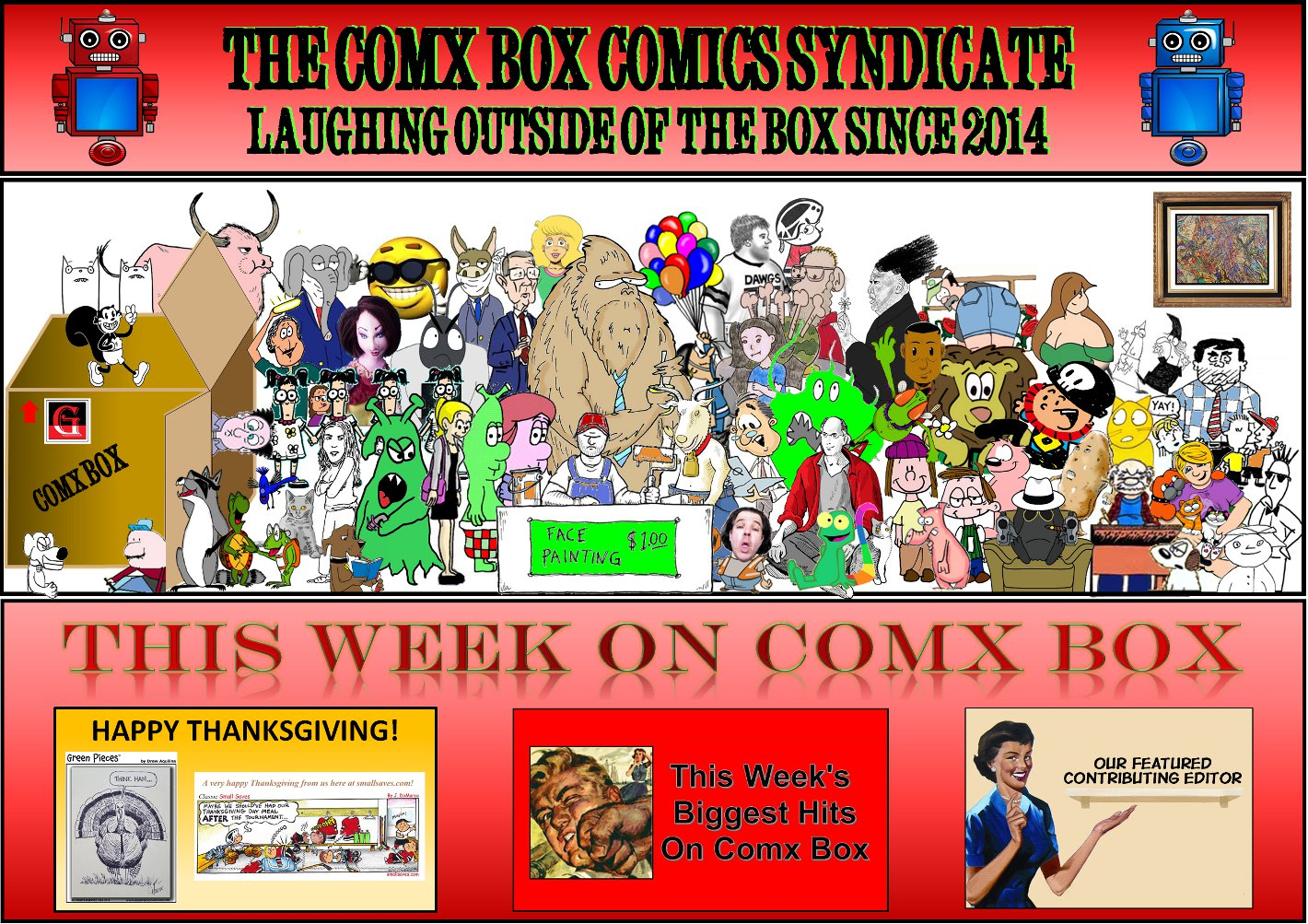 Comx Box Comics Syndicate
