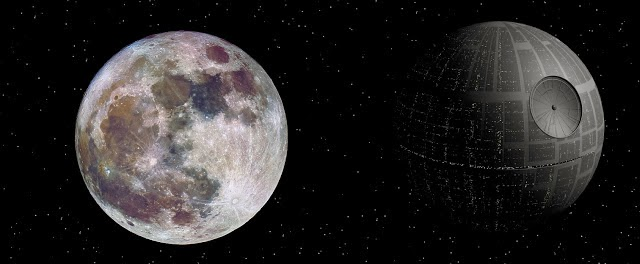 supermoon+real+color+death+star+starwars