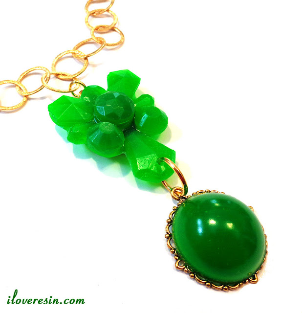 Resin Obsession bright green