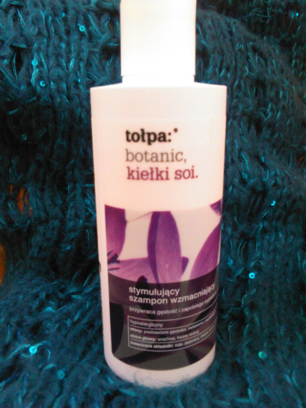 tołpa: botanic, kiełki soi. szampon stymulujący