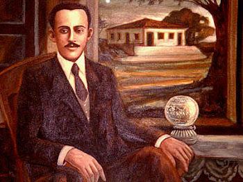 Augusto dos Anjos -PARAIBANO. Nasceu em 1884 e desencarnou em 1914, na cidade de Leopoldina.