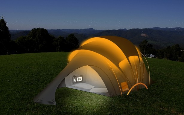 High-Tech Solar Tent 02
