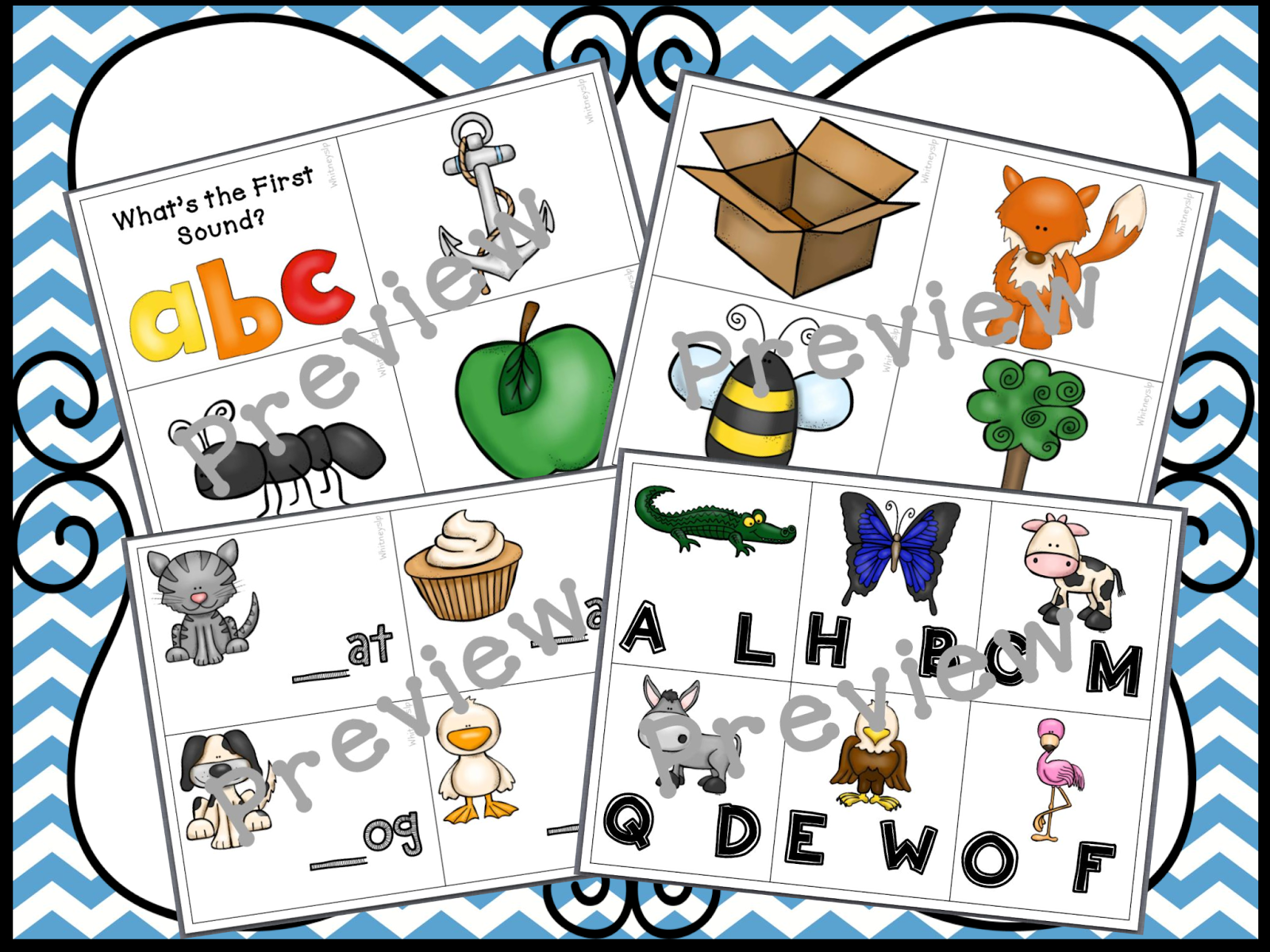 http://www.teacherspayteachers.com/Product/Alphabet-All-The-Way-Phonological-Awareness-Activities-and-Classroom-Decor-1220620
