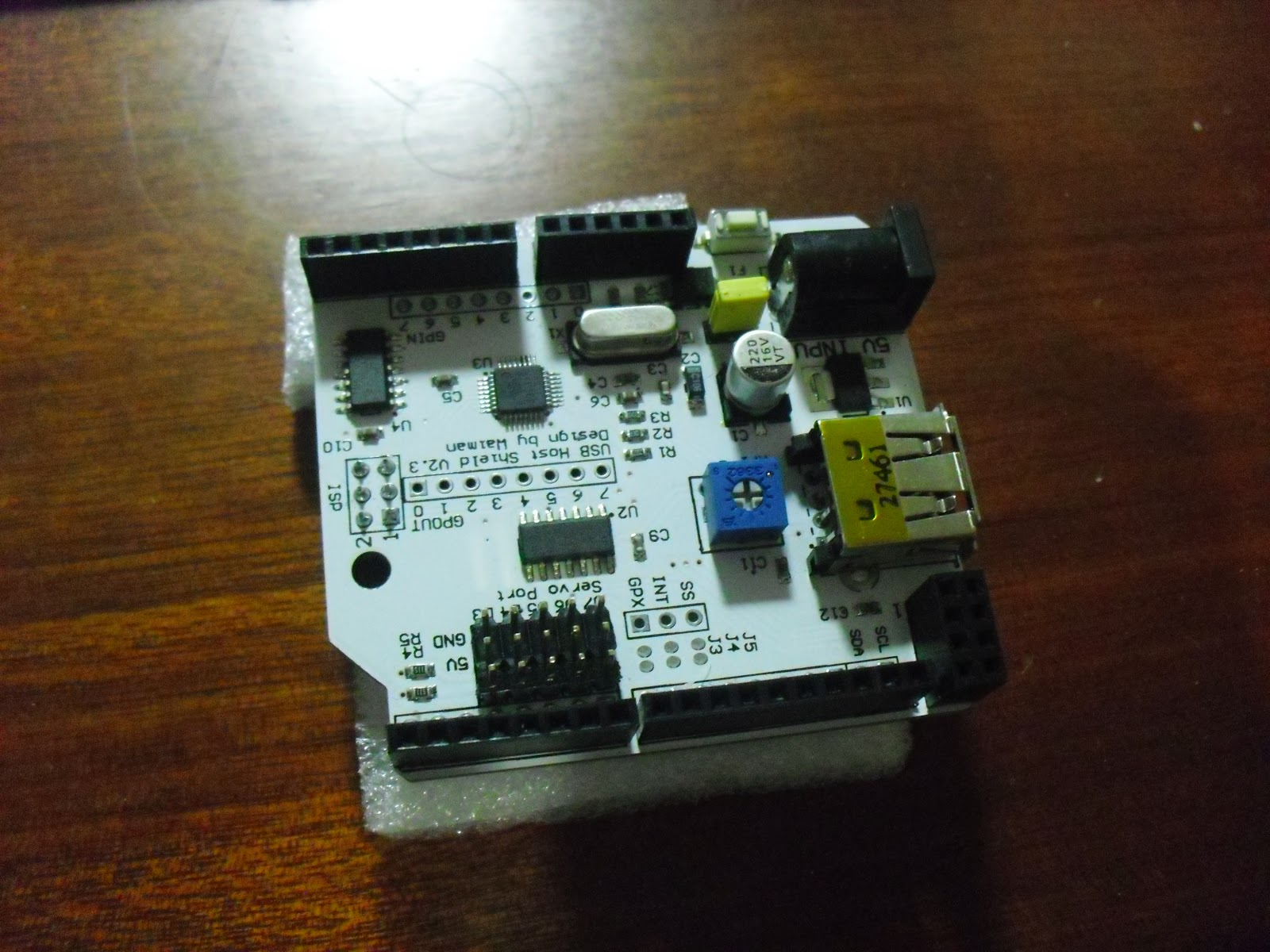 Arduino usb host shield i m a c noob
