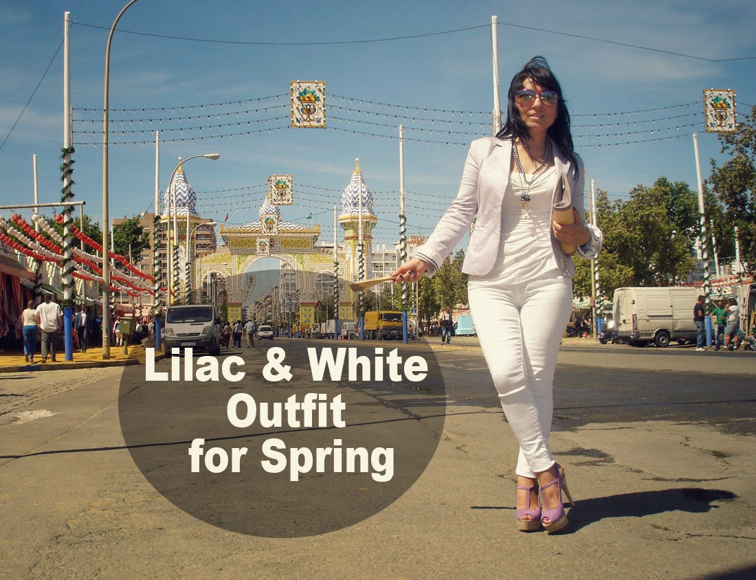 Lilac+and+White+Outfit+for+Spring