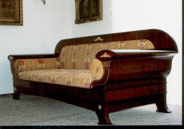 Joseph Ulrich Danhauser sofa katalogs