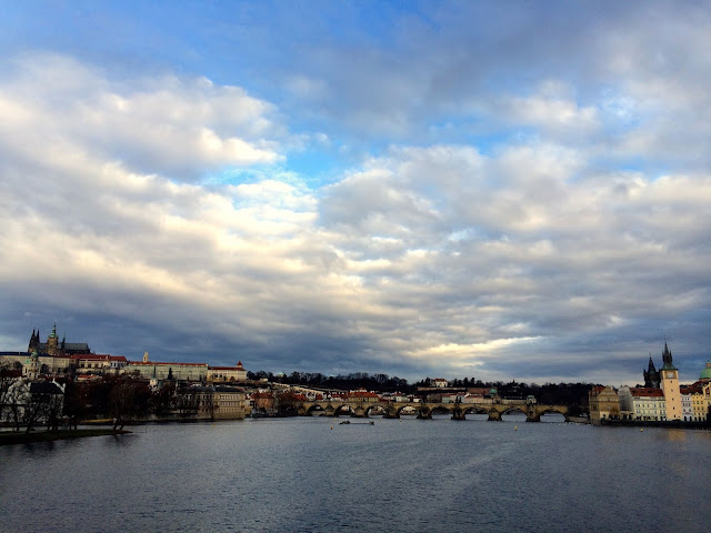 view of charles brige in prague