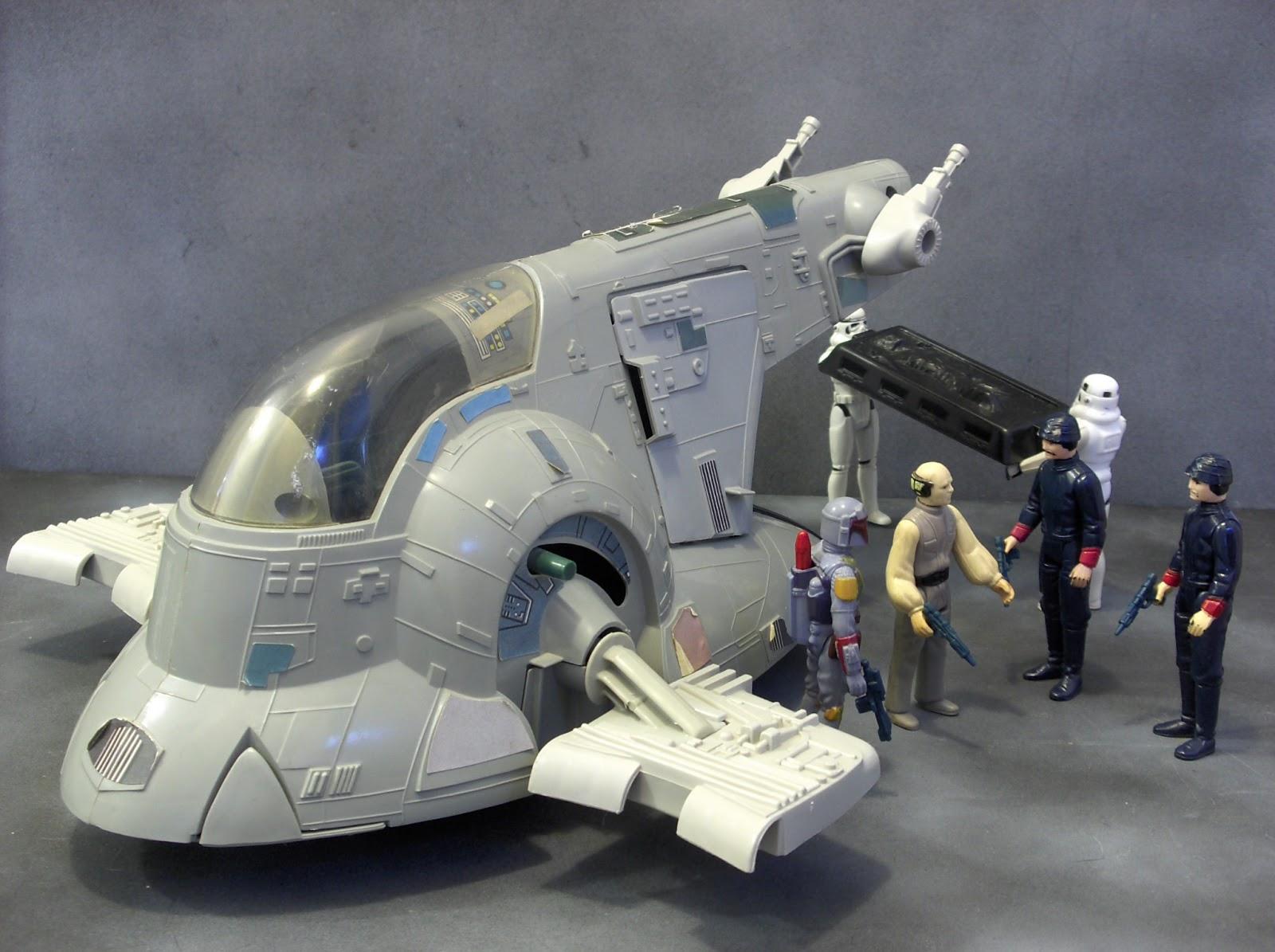 Star Wars Toy Ships : Vintage kenner star wars toys slave i boba fett s spaceship