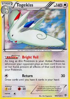 Togekiss Plasma Storm Pokemon Card