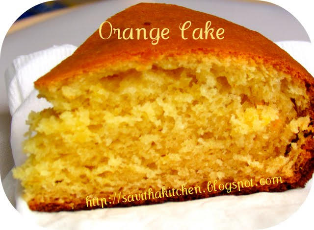 Eggless cake recipe condensed milk orange juice