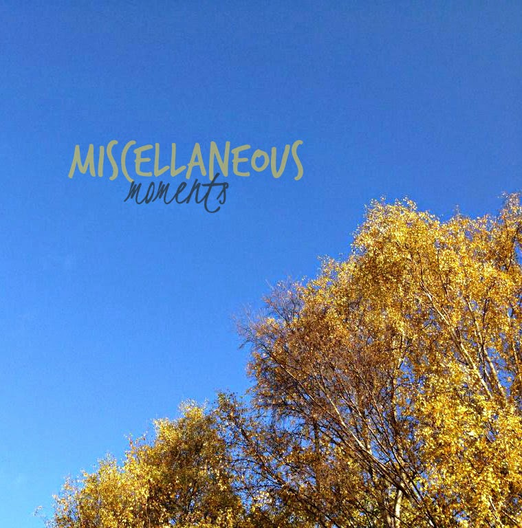 Miscellaneous Moments