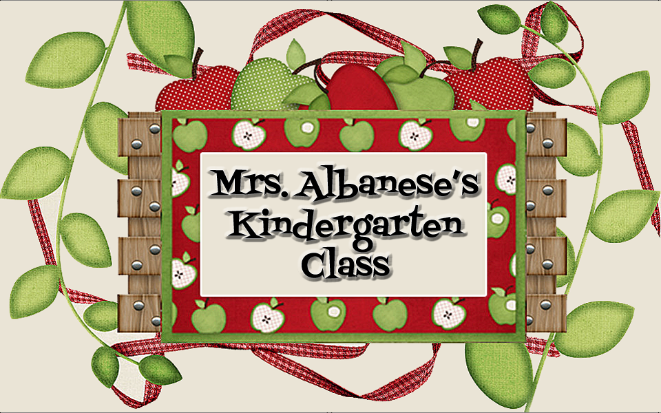 Mrs. Albanese&#39;s Kindergarten Class