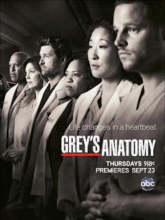 Grey's Anatomy cast season 8 saison 8