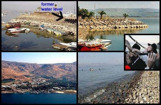 Tasik Tibriyyah (Galilee) Semakin Kering Petanda Dajjal Semakin Hampir