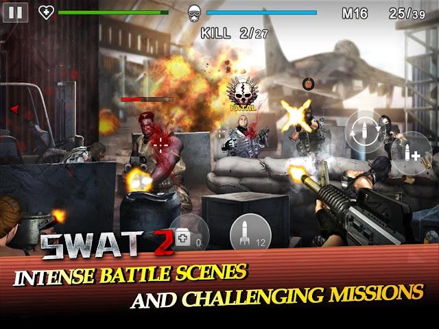 SWAT 2 v1.0.6 Apk Mod [Dinero]