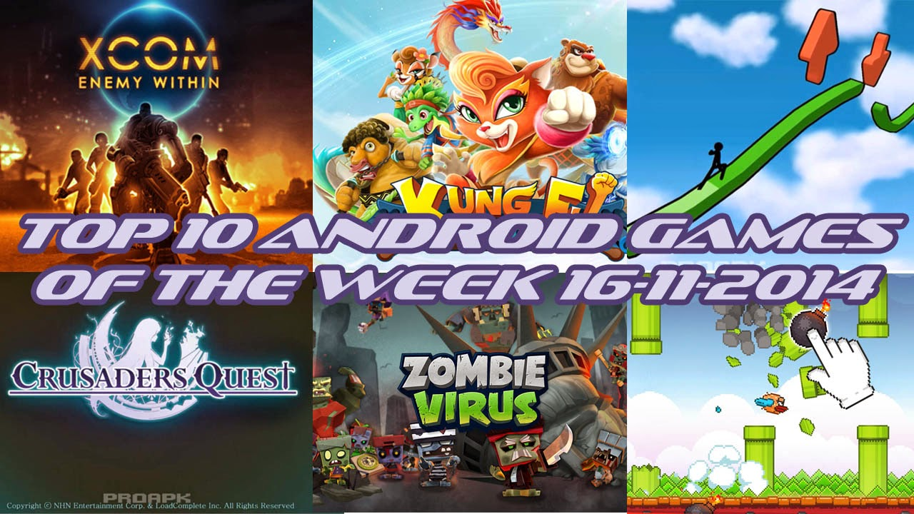 TOP 10 BEST NEW ANDROID GAMES OF THE WEEK - 16th November 2014
