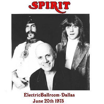 Spirit - Electric Ballroom - Dallas - Texas - June 20th 1975