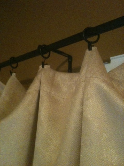 Curtain Hanging Ideas Enchanting Of Hanging Curtains with Clip Rings Picture