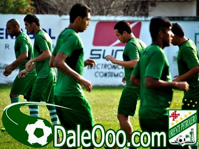 Oriente Petrolero - Galindo - Mojica - Duk - Dos Santos - Añez - DaleOoo.com sitio del Club Oriente Petrolero