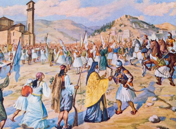 1821: Ο Θεόδωρος Κολοκοτρώνης με 2.000 άνδρες