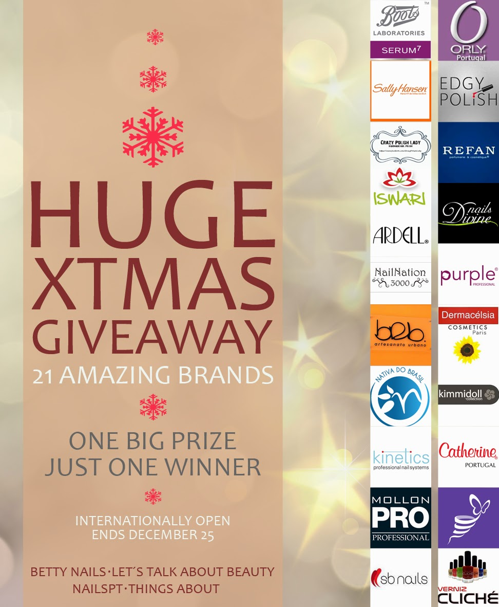 Christmas Basket GIVEAWAY- Multi-blogger and Multi-Brand (21 brands) - INTERNATIONAL