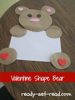 the valentine bears, valentines day kids crafts, valentines day activities for kids, valentine day activities for preschoolers, ready-set-read.com, images, crafts for kids