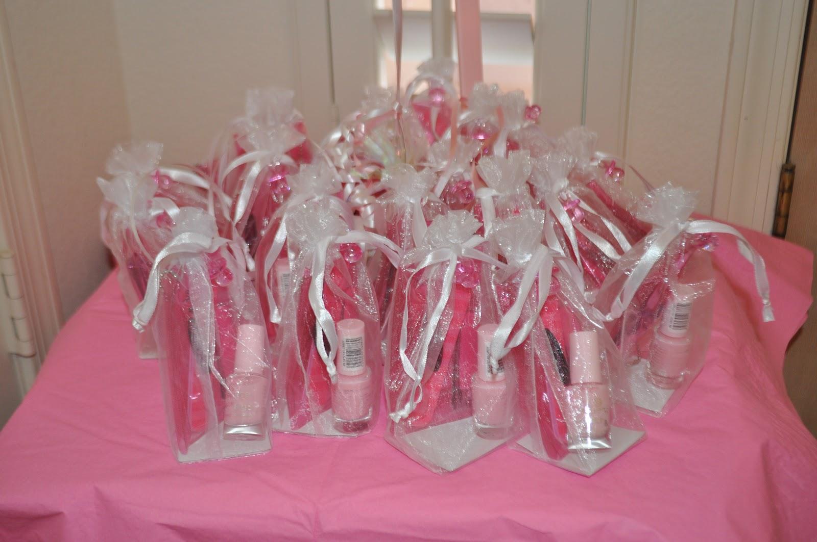 Girl Baby Shower Nail Designs