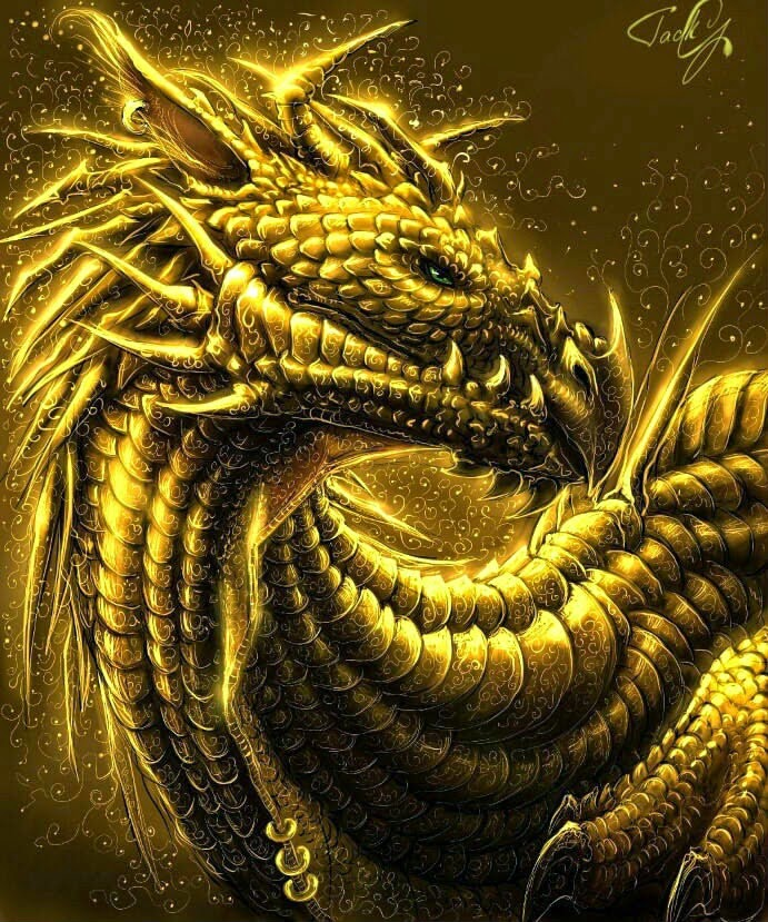 Dragon-Gold