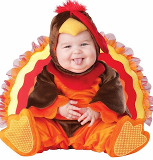 Lil' Gobbler Infant / Toddler Thanksgiving Day Costume
