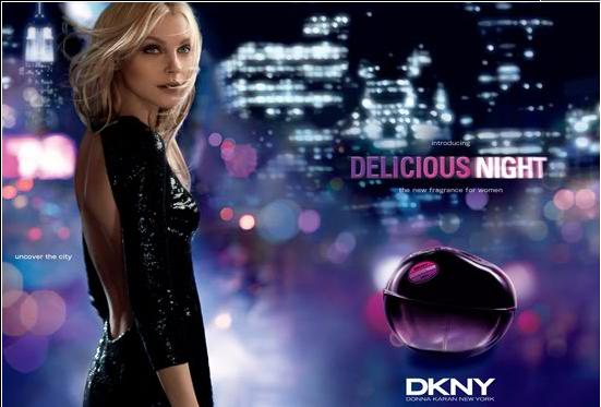 dkny perfume advert