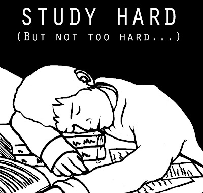 Study hard and get good marks